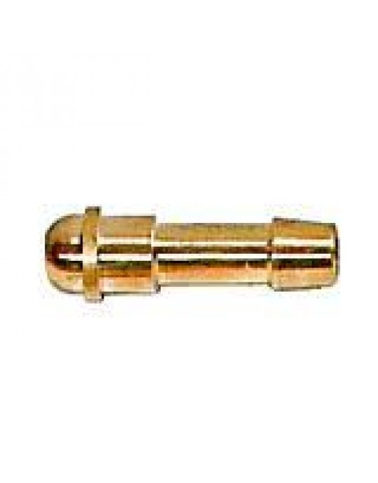 1/4 BSP with 1/4 Tail Tig Gas Fitting CHOOSE DIRECTION