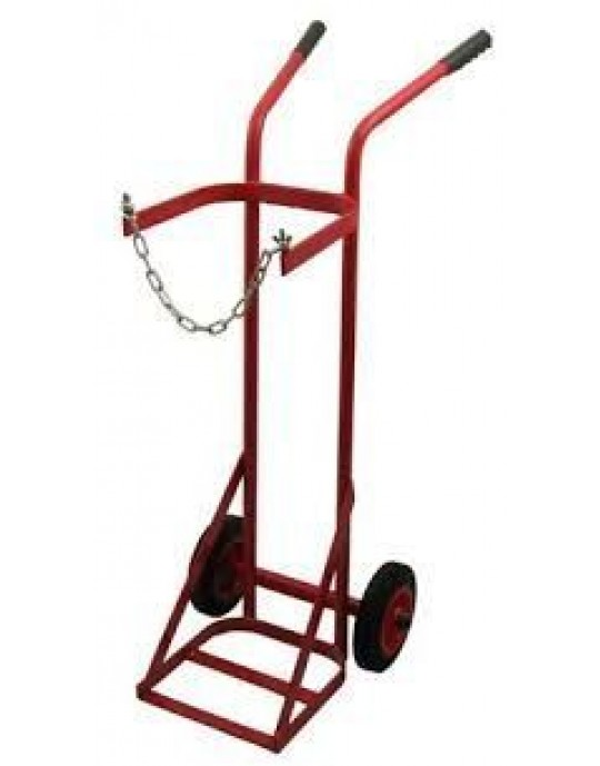 1271 Single Oxygen / Acetylene Cylinder Trolley