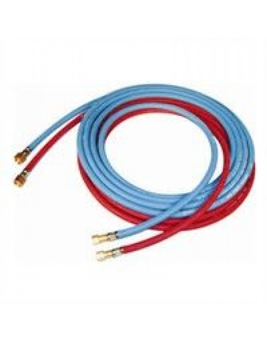 """Gas Hose - Choose Gas Type and Length - 3/8"""" - 1/4"""" BSP"""