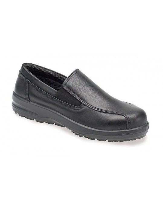 ABS133 Ladies Water, Slip & Heat Resistant Slip-On Safety Shoe