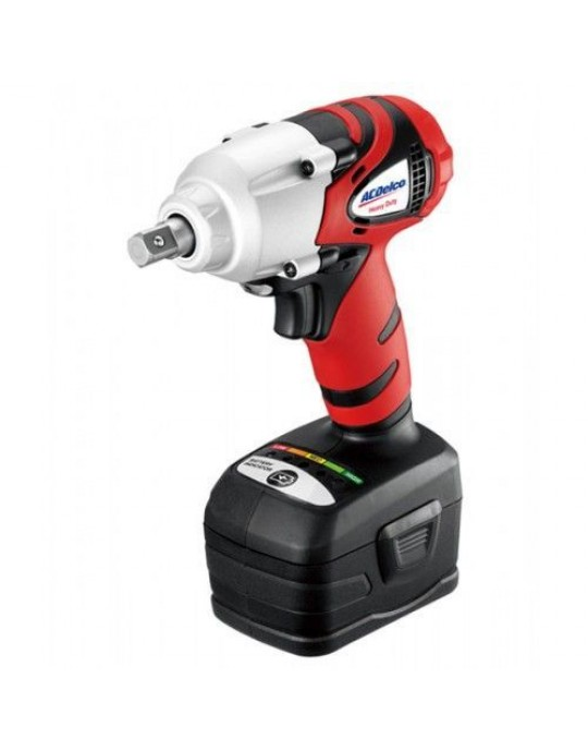 """ACDelco ARI2061B 18v Li-ion 1/2"""" Impact Wrench c/w Case, Charger & 2 Batteries"""