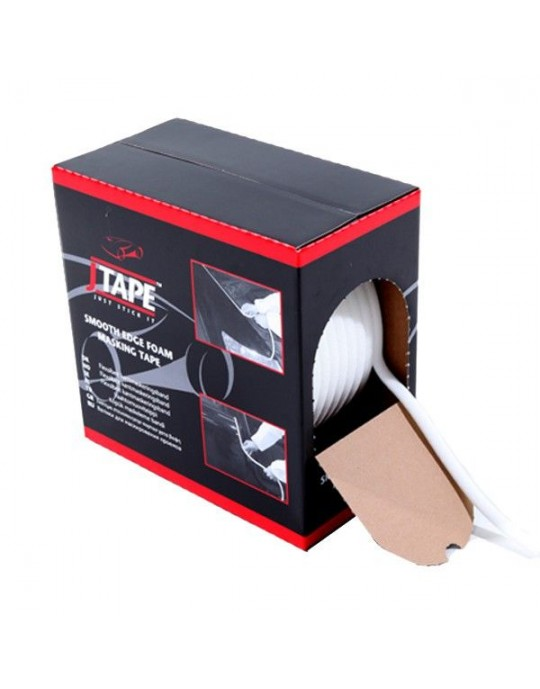 JTAPE 1013.1350 Smooth Edge Foam Masking Tape 13mm