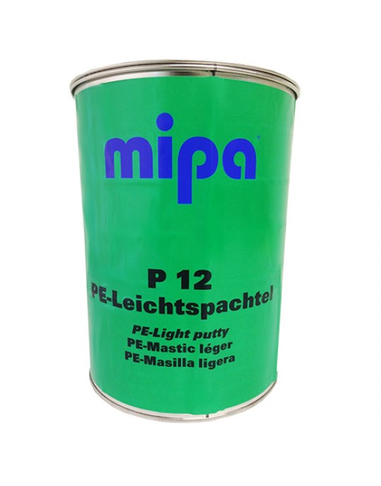 MIPA P12 Easy Sand Lightweight Putty Filler 3 Litre with Hardener