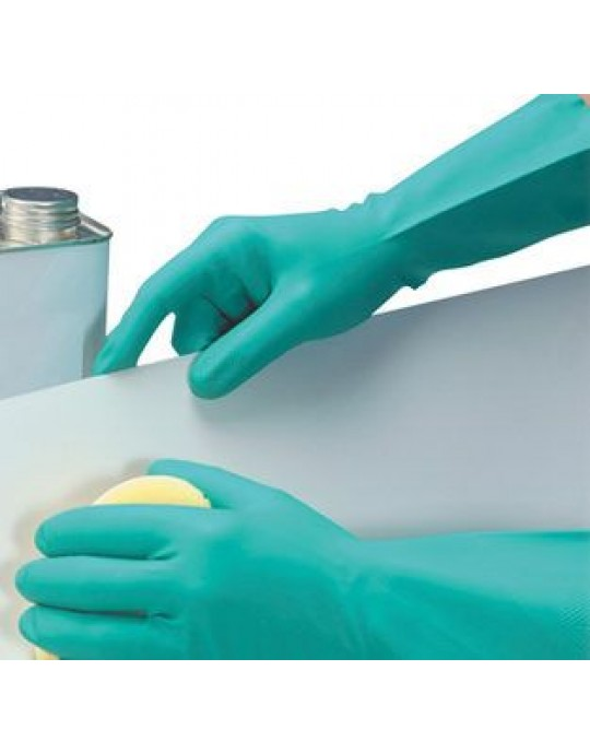 Nitri Tech II Chemical Rubber Gloves