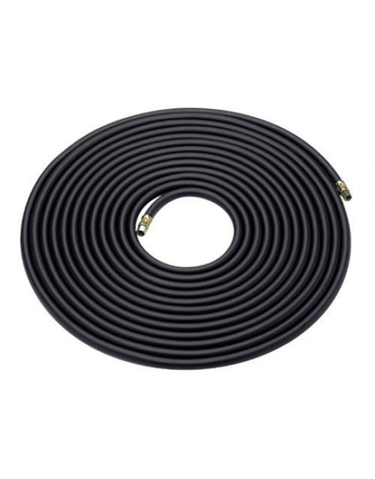"Professional Rubber Airline 10 Metre 1/4"" Fittings"