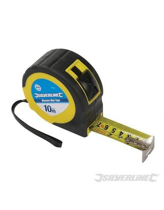 Silverline 868502 Measure Max Tape 10 Metre