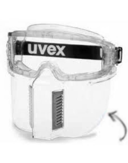 uvex Ultrashield Faceguard (attaches to Ultravision goggles)