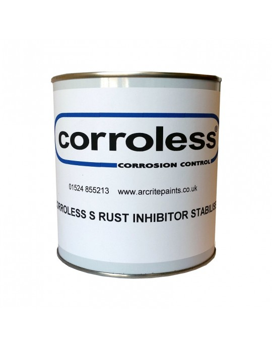 Corroless S Rust Treatment Killer Inhibiting Primer - CHOOSE SIZE