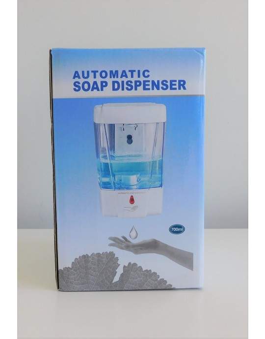 HAND SANITISER 70% WITH TOUCH LESS DISPENSER ALCOHOL 500ML