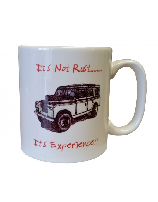 Its Not Rust White Mug