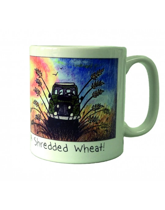 Shreaded Wheat Gift Mug