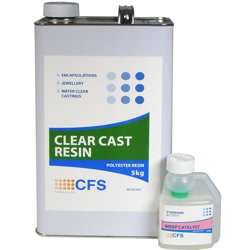 CFS Clear Casting Resin - Water Clear - Ideal for arts & crafts