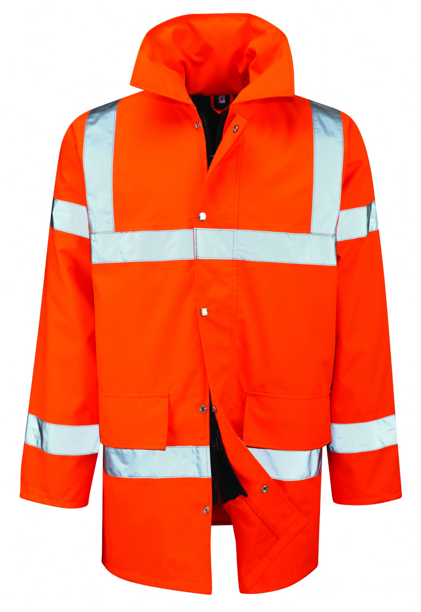 Class 3 Hi Vis Padded Traffic Jacket - CHOOSE SIZE AND COLOUR