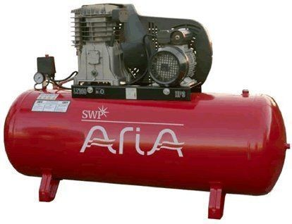 SWP Aria Belt Driven Static 150 Litre Compressor 230v or 3 Phase