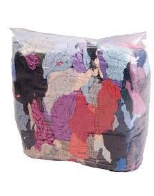 10KG Coloured Cotton Rags