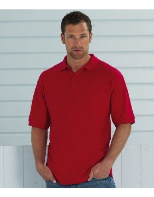 539M Russell Pique Poloshirt - CHOOSE SIZE & COLOUR