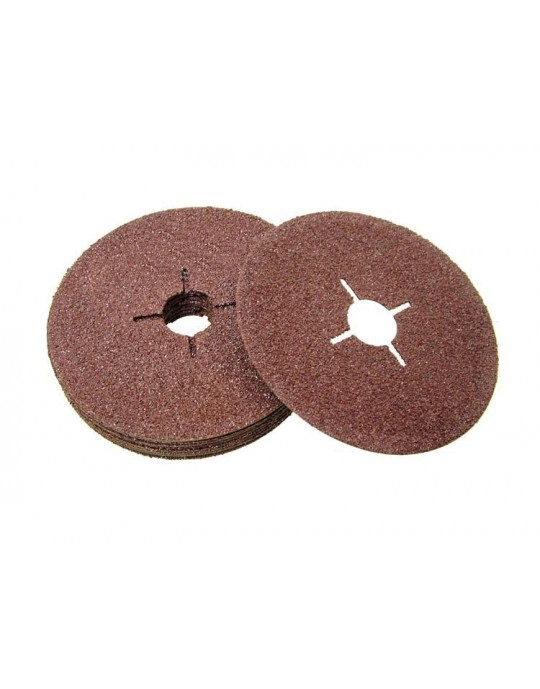 Aluminium Oxide Sanding Discs COARSE Pack/25 - CHOOSE SIZE