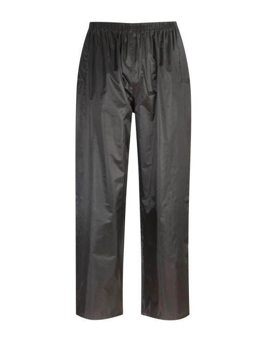 Atlantic Black Rain Trousers