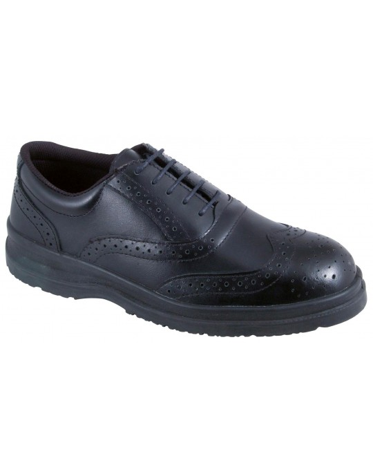 Blackrock SF31 Oil Resistant Black Safety Brogue