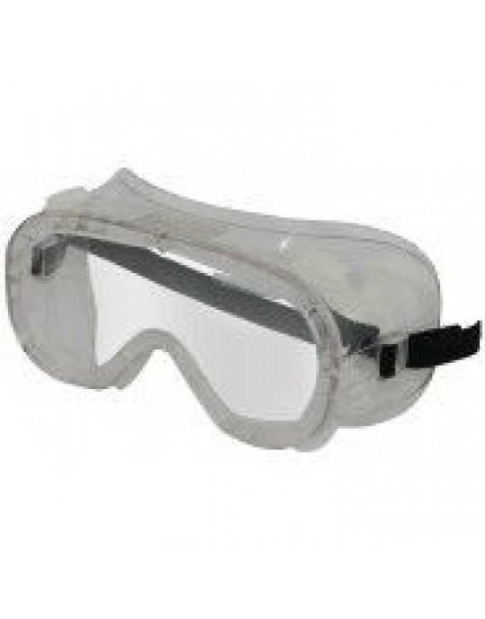 Clear Indirect Vent Safety Goggles