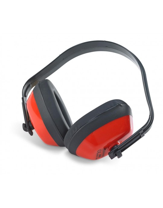 Ear Defenders Red Adjustable