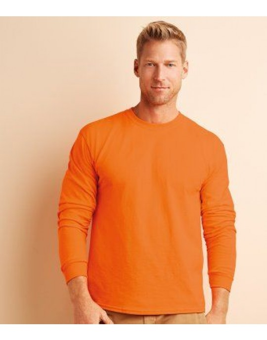 GD14 Gildan Long-Sleeve T-Shirt - CHOOSE SIZE & COLOUR