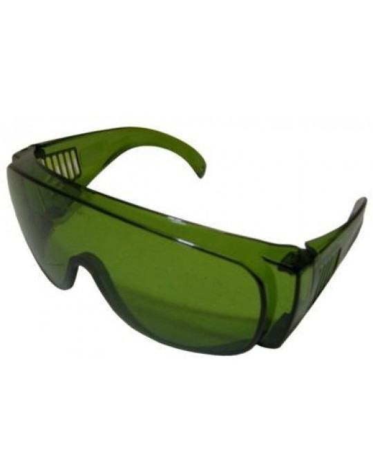 Green Anti-Flash Safety Spectacle