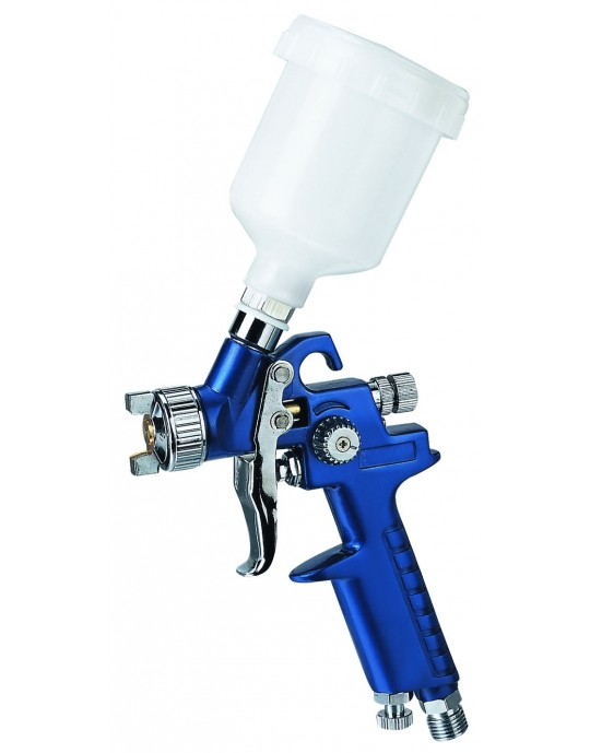 H-2000 Small Lightweight Gravity Spray Gun 1mm Nozzle