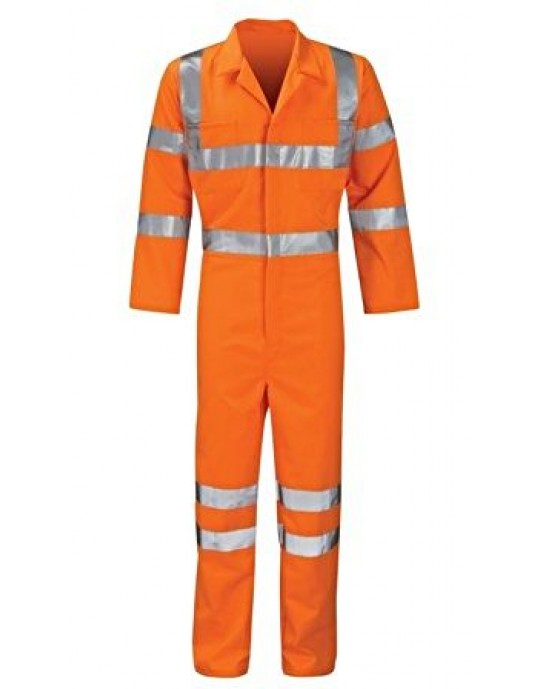 Hercules Apollo Hi Viz Orange Overall Rail Track GO/RT