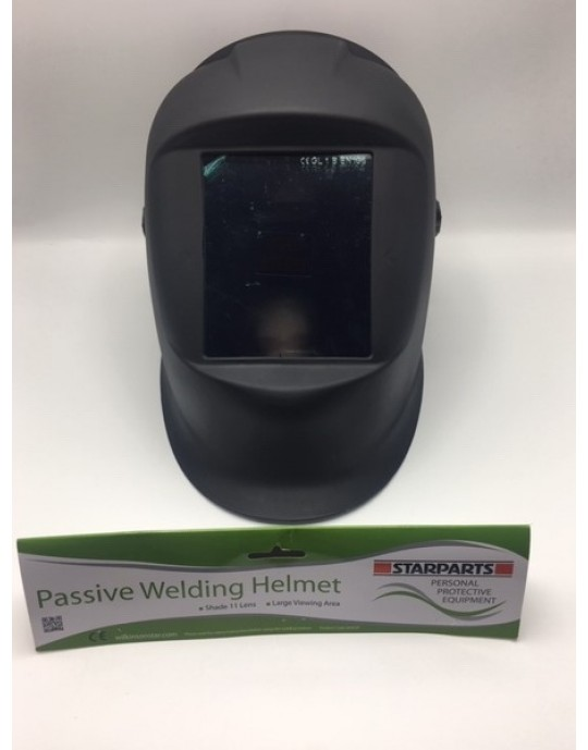 Jackson Phoenix style wide vision Passive Fixed Shade W10 HSL 100 Welding Helmet Black