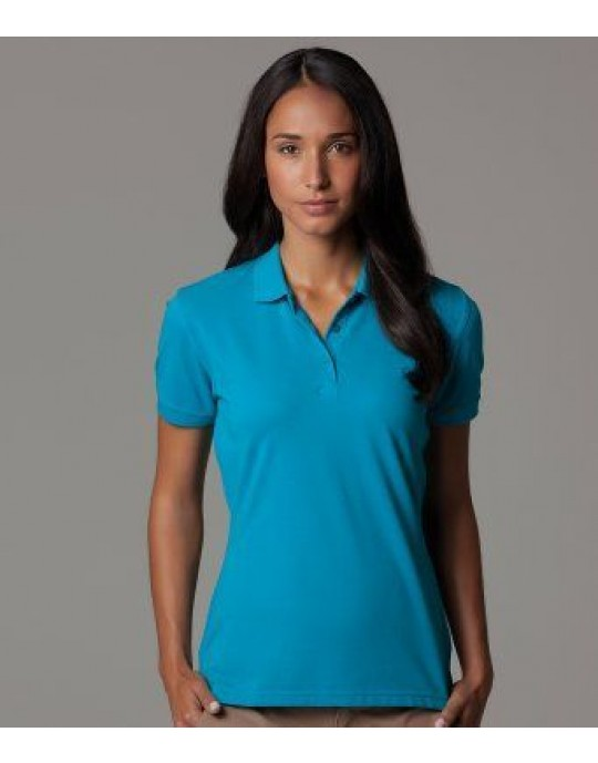 K213 Kustom Kit Ladies Slim Fit Poloshirt