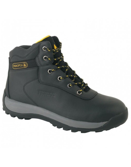 LH842SM Panoply Black Oil, Heat & Slip Resistant Hiker Boot