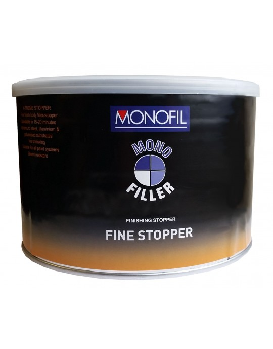 Monofil Fine Stopper Filler 1 Litre with Hardener