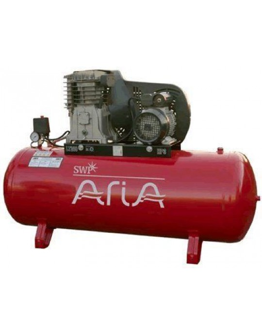 SWP Aria Belt Driven Static 270 Litre 4HP Compressor 230v