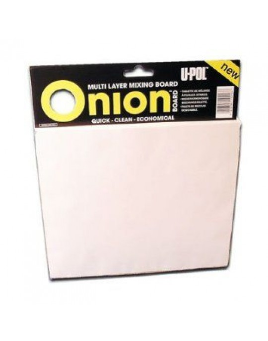 U-POL Onion Mixing Board 100 Sheets