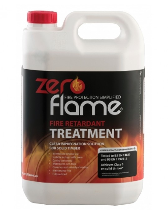 Zero Flame Timber Treatment